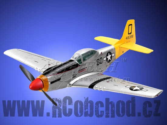 (OUTLET 45585) - Mini mustang P-51D 2,4Ghz, RTF - díly