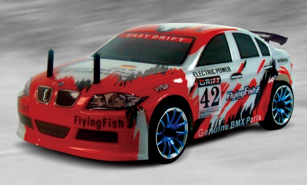 BMW DRIFT - Flying fish 2, HSP, 1/16, RTR