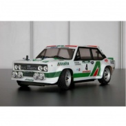 Fiat 131 rally body - Alitalia painted with decals