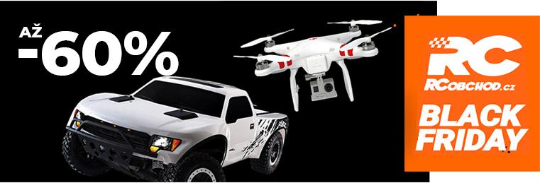 de9be4b79 BLACK FRIDAY - RC modely dronů, vrtulníků, aut, letadel, tanků a ...