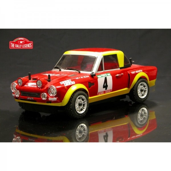 FIAT 124 ABARTH RALLY 1975, 1:10, 4WD, RTR, 2.4 GHZ