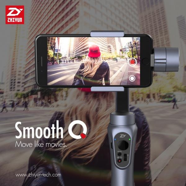ZHIYUN Smooth-Q 3-osý gimbal pro mobilní telefon nebo akční kameru