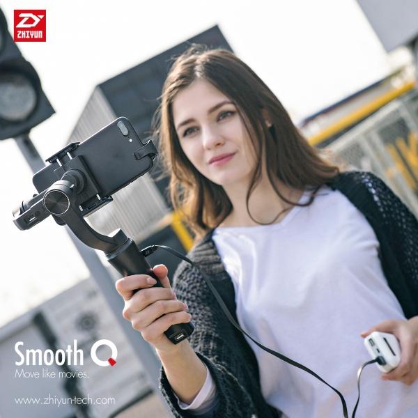 Gimbal Smooth-Q + adaptér pro akční kameru zdarma