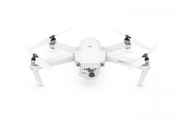 DJI - Mavic Pro Fly More WHITE Combo (Limited Edition)