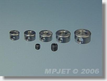 2806 Stavěcí kroužek mosaz 6 mm 4 ks