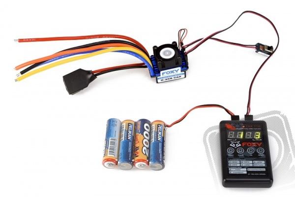 FOXY R35B CAR střídavý regulátor 35A + prog.karta (bezsenzorový)