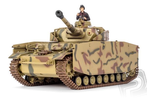 Panzer IV RC tank 1:24 2,4GHz s infračerveným bojovým systémem