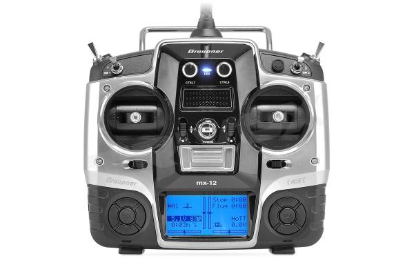 MX-12 2,4GHz HOTT RC souprava (anglický software)