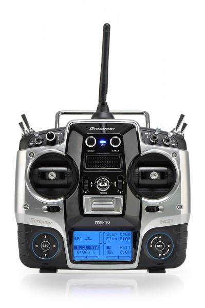 MX-16 2,4GHz HOTT RC souprava