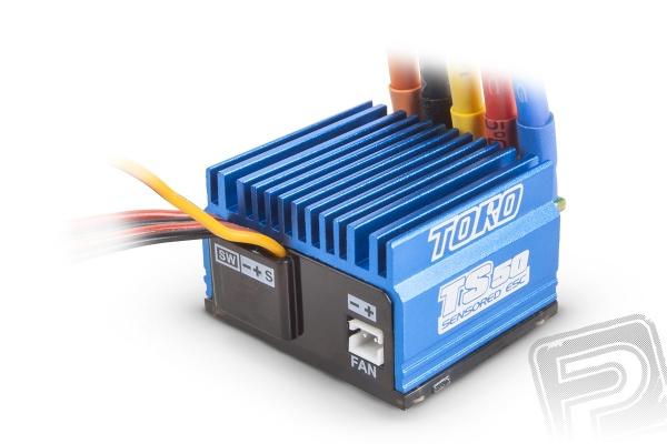 TORO TS 50 1/10 regulátor