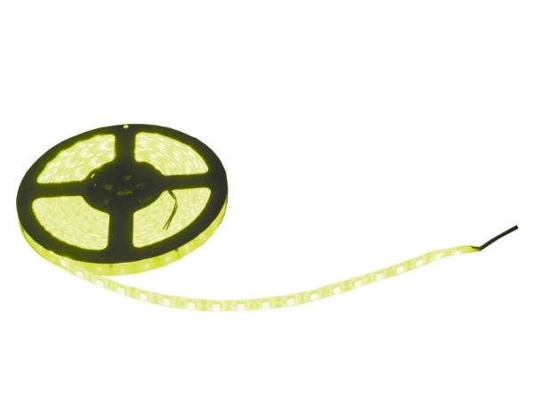 Svíticí LED páska 14,4W/m, 5m, žlutá