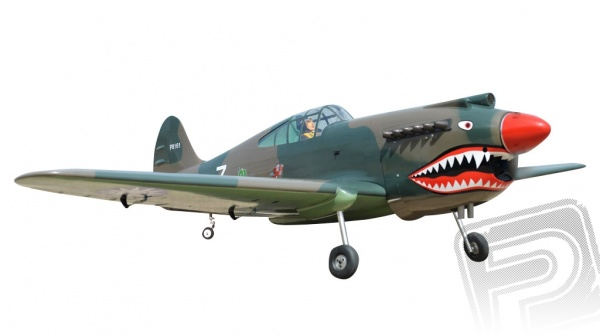 BH161 P-40 Tomahawk 2275mm ARF