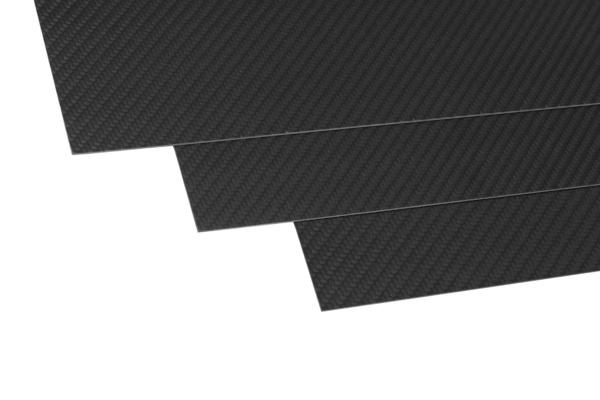 Uhlíková deska (350x150x1,5 mm) 1ks.