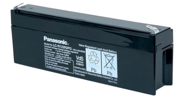 Pb akumulátor PANASONIC 12V/2,2Ah