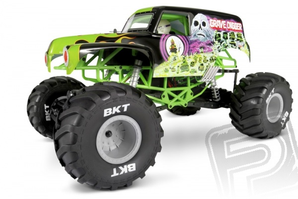 Axial Grave Digger Monster Truck RTR