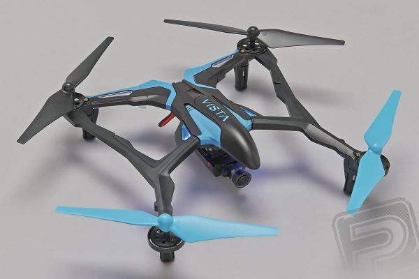 Dromida Vista FPV Quad s kamerou - modrá