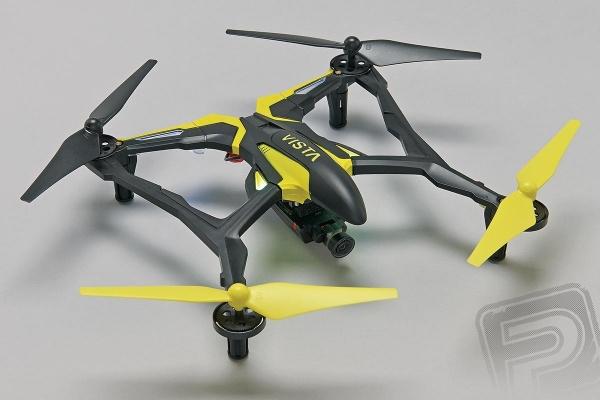 Dromida Vista FPV Quad s kamerou - žlutá
