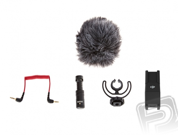 Mikrofon RODE VideoMicro & OSMO 360 Quick Release Mic Mount pro OSMO