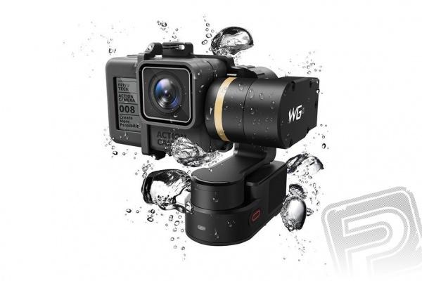 WG2 3-osý variabilní vodě odolný stabilizátor pro GoPro kamery