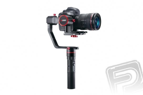 A2000 Single 3-osý stabilizátor pro zrcadlovky a DSLR kamery
