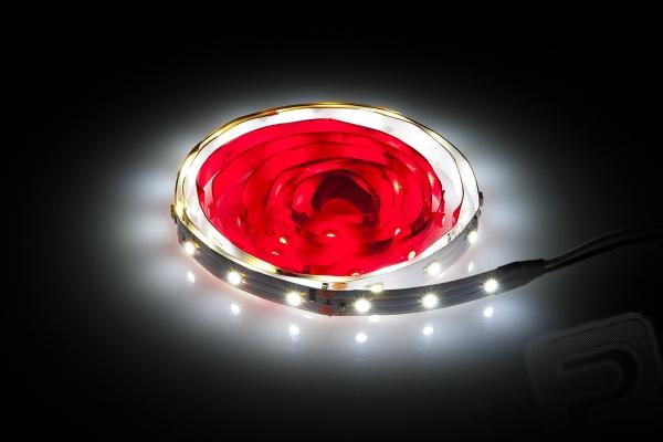 Svíticí LED pásek pro DJI Phantom bílo-červený