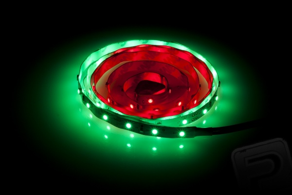 Svíticí LED pásek pro DJI Phantom zeleno-červený