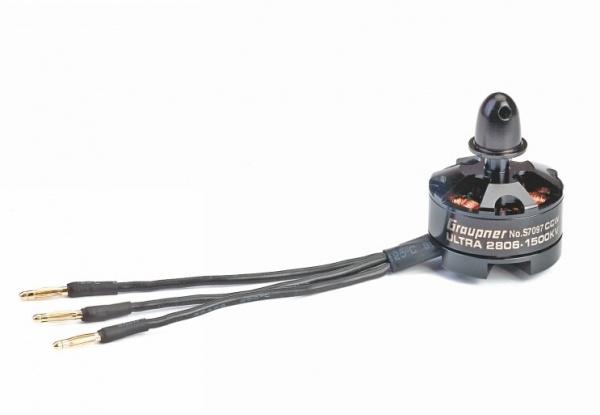 Motor ULTRA 2806-1500kv (1 ks) CCW