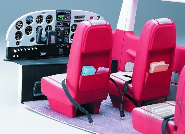 Maketové vybavení kabiny Cessna 182 Skylane 90