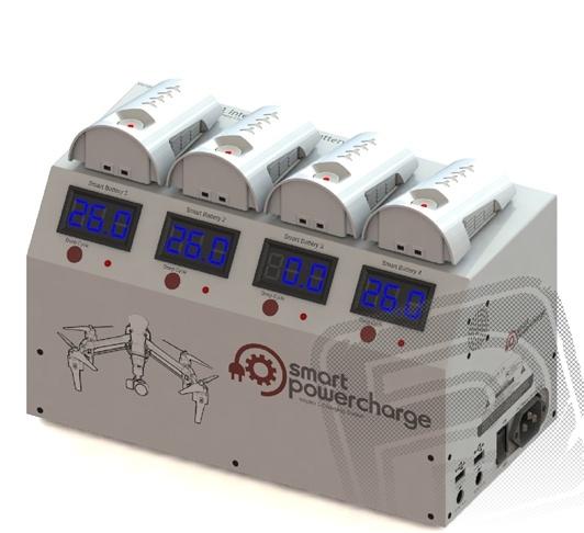 Nabíjecí stanice pro akumulátory Inspire 1- použité