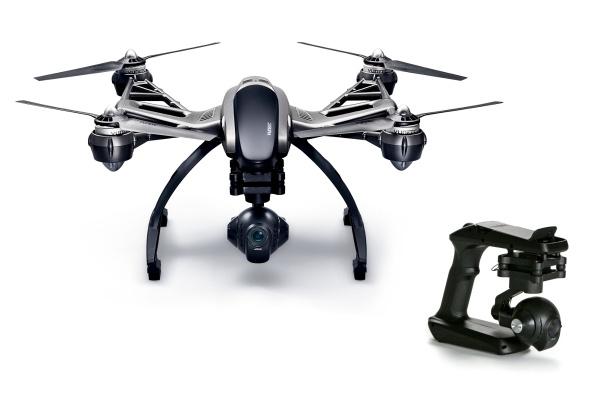 YUNEEC Q500 4K TYPHOON s kamerou C-GO3-4K RTF s CGO SteadyGrip