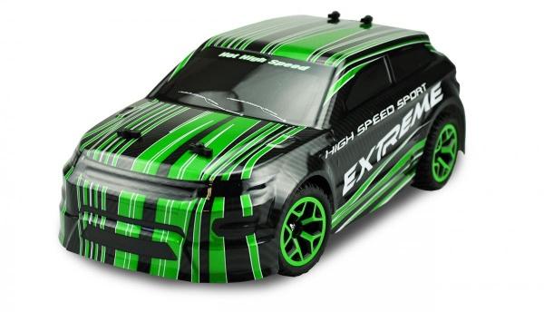 Auto X-Knight 1:18 RTR 4WD ZELENÁ PROPORCIONÁLNÍ JÍZDA