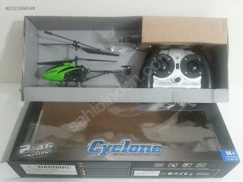 Cyclone Mini Helikoptéra 2,4GHz