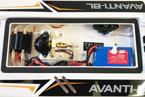 AVANTI-BL - 45Km/h - střídavý motor