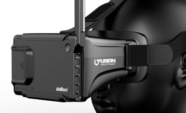 UDI U31R NAVIGÁTOR s monitorem FPV brýlemi 5.8GHz 2xAKU