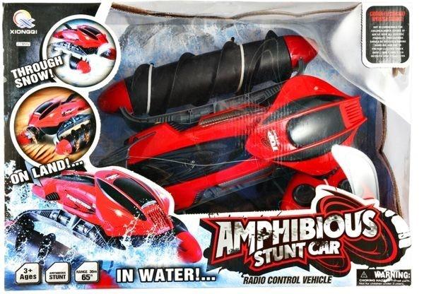 Obojživelník Amphibious Stunt Car - zelený