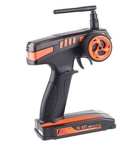Radio pistolové FS-GT2 2CH 2,4GHz + přijímač GR3E