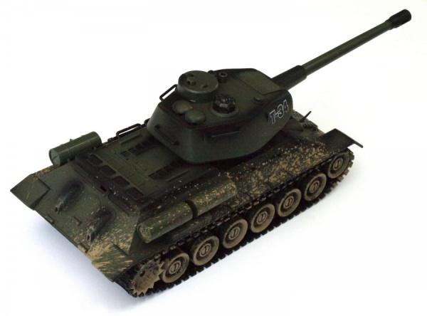 Ruský RC tank T-34, 1:28 2.4GHz RTR
