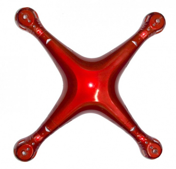 Skelet kompletní červený  - X8HG-02R