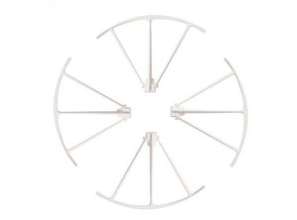 Ochrany vrtulí bílé  - X5UW 4 kusy