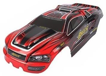 Červená karoserie pro truggy 1/12 XLH-9116