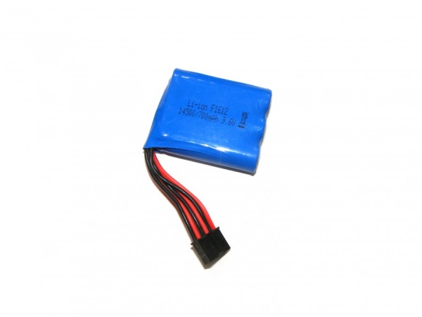 700mAh 9.6V Li-Ion