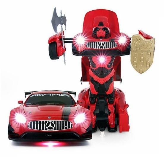 GT3 Transformer 1:14 2.4GHz RTR - červená
