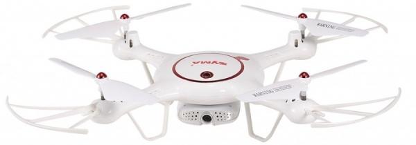 SYMA X5UW-D - s pohyblivou HD kamerou a přenosem