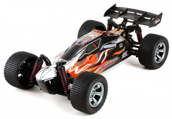 OFF-ROAD COMPETITION BUGGY 2WD 1:12 2.4GHz RTR - červená