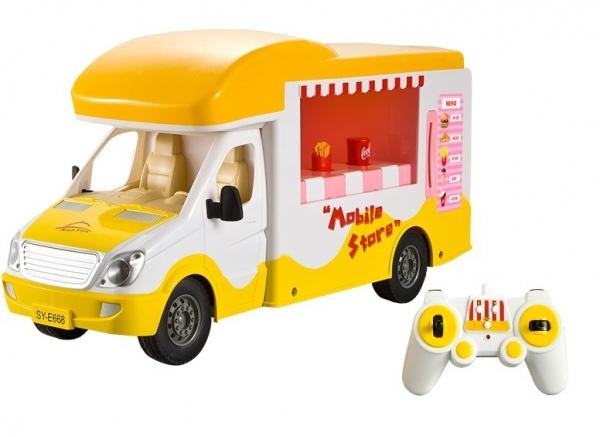 Mobilní obchod, 1:18 - auto pro holky i kluky