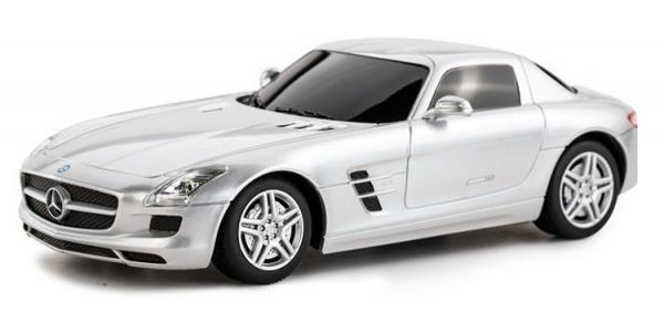 Mercedes-Benz SLS AMG 1:24 RTR – stříbrný