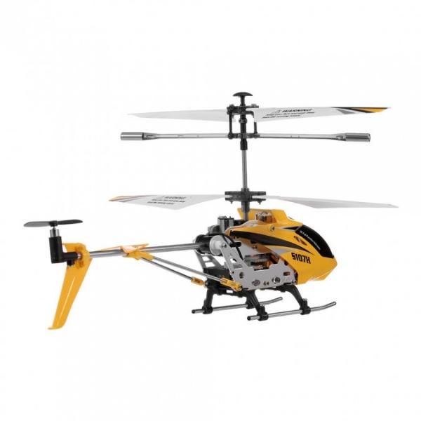 Syma S107H Phantom - ultra odolný vrtulník s barometrem - žlutý
