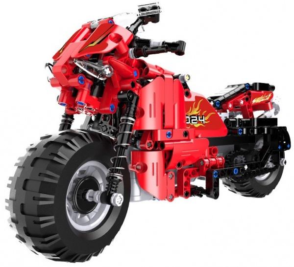 RC motorka - stavebnice - (484 dílků)