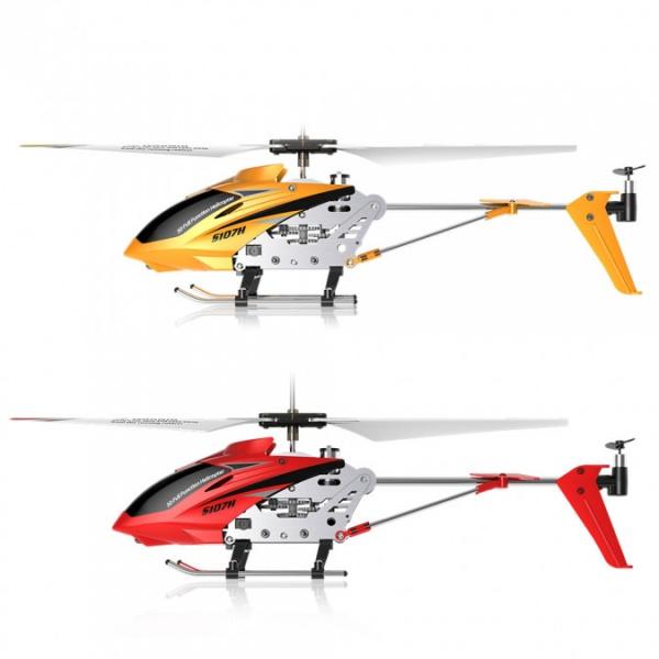 Syma S107H Phantom - ultra odolný vrtulník s barometrem - červený