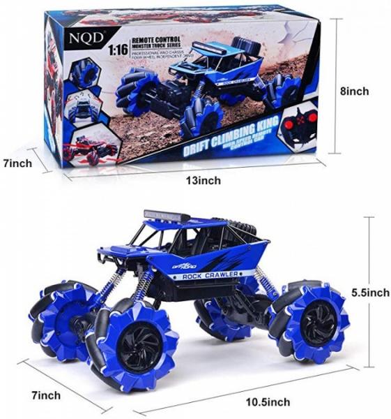 Dancer 4WD - modrý